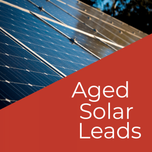 Buy Aged solar leads